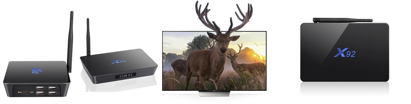 X92 S912 Smart TV приставки Android (настроенные)