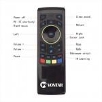 Vontar FM5 PRO Аеро пульт + клавиатура комплексное решение для Смарт ТВ Приставок