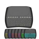 Vontar D8 PLUS бездротова клавіатура з тачпадом для Смарт ТВ приставок + акумулятор, купити в Києві.