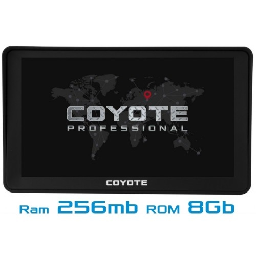 GPS навігатор COYOTE 780 Delivery Star 7 дюймів RAM 256mb ROM 8Gb з картами навігації