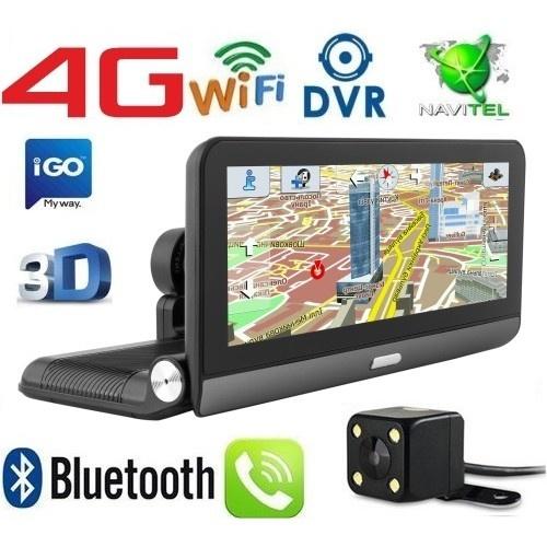 Купити GPS навігатор-відеореєстратор 8 дюймів GPS COYOTE M84 DVR PRO 1GB / 16GB + AV Андроїд + Full HD з картами навігації 2020 року