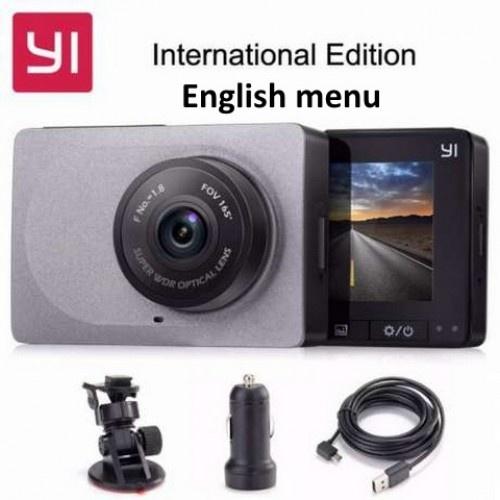 Оригінальний Автомобільний відеореєстратор Xiaomi Yi Smart Car Dash Camera Grey