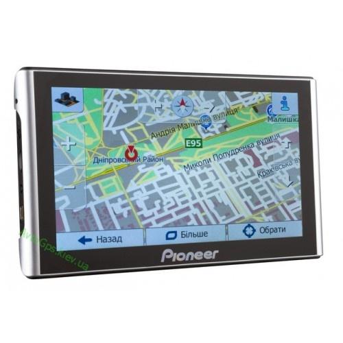 GPS навигатор Pioneer 7 дюймов с картами навигации