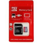 16GB 10 Class Карта памяти Kingstick для видеорегистраторов и GPS навигаторов