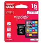 16GB 10 Class Карта пам'яті GoodRam для відеореєстраторів та GPS навігаторів
