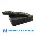 Налагоджена і готова до роботи на будь-якому телевізорі Андроїд 7 Смарт ТВ Приставка MXQ PRO 4K