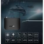 Популярная Смарт ТВ приставка Mecool M8S Plus DVB T2 с Т2 Тюнером + Фильмы + Телевидение. Полностью настроена и готова к работе