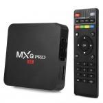 Настроенная и готова к работе на любом телевизоре Андроид 6 Смарт ТВ Приставка MXQ PRO 4K