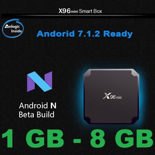 Популярна Смарт ТВ приставка X96 Mini S905W 1гб / 8Гб + Фільми + Телебачення. Повністю налаштована і готова до роботи