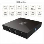 Популярная Смарт ТВ приставка X96 2гб/16гб для просмотра фильмов телевидения серфинга в интернете