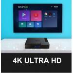 Новая модель Смарт ТВ приставки X96 MATE 4гб / 32гб на Андроид 10 для просмотра фильмов телевидения серфинга в интернете и игр