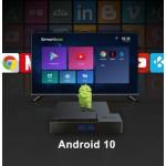 Нова модель Смарт ТВ приставки X96 MATE 4гб / 64гб на Андроїд 10 для перегляду фільмів телебачення серфінгу в інтернеті та ігор