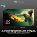 Популярная Смарт ТВ приставка X96 MAX+ 4гб/32гб для просмотра фильмов телевидения серфинга в интернете