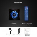 Новая модель Смарт ТВ приставки X96Q MAX 4гб / 32гб на Андроид 10 для просмотра фильмов телевидения серфинга в интернете и игр