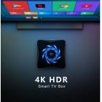 Нова модель Смарт ТВ приставки X96Q MAX 4гб / 32гб на Андроїд 10 для перегляду фільмів телебачення серфінгу в інтернеті та ігор