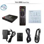 Популярная Смарт ТВ приставка X96W S905W 2гб/16гб + Фильмы + Телевидение. Полностью настроена и готова к работе