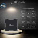 Популярная Смарт ТВ приставка X96 MAX 4гб/64гб для просмотра фильмов телевидения серфинга в интернете
