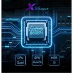 Популярная Смарт ТВ приставка X96 Mini plus S905W4 2гб/16гб Андроид 9 + Фильмы + Телевидение. Полностью настроена и готова к работе