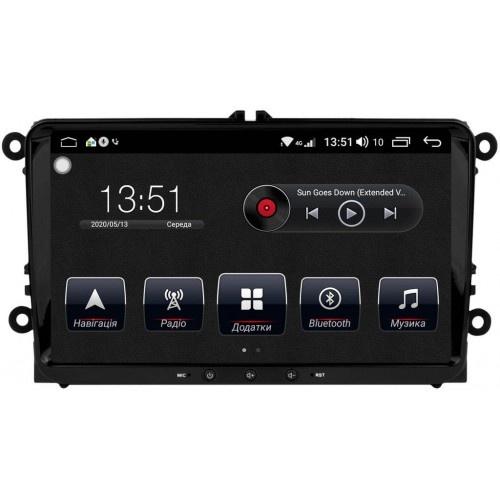 "VW Jetta V-VI (2005-2018) штатна магнітола Dakota 9009 PremiumSound на Android 8 DSP IPS 9 ""RAM 4Gb ROM 64GB SC9853"