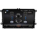 "Універсальна магнітола для Volkswagen Dakota 9009 PremiumSound на Android 8 DSP IPS 9 ""RAM 4Gb ROM 64GB SC9853"