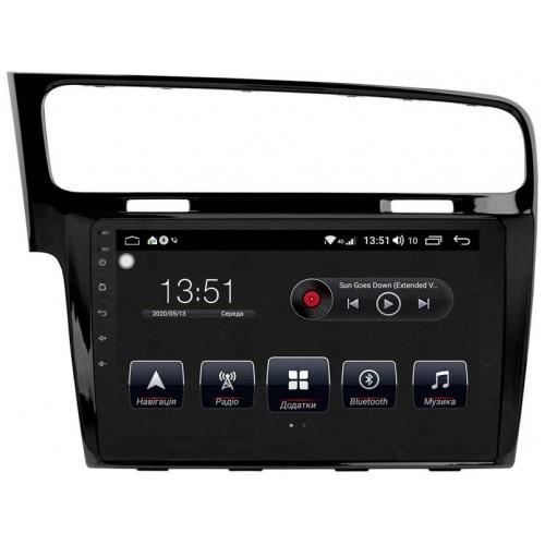 Купить Штатную магнитолу для VW Golf 7 Dakota 9018 PremiumSound на Android 8 + Голосовое управление + Навител Украина лицензия
