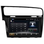"VW Golf 7 штатна магнітола Dakota 9018 PremiumSound на Android 8 DSP IPS 10 ""RAM 4Gb ROM 64GB SC9853 Чорна"