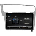 "VW Golf 7 штатна магнітола Dakota 9018 PremiumSound на Android 8 DSP IPS 10 ""RAM 4Gb ROM 64GB SC9853 Сіра"