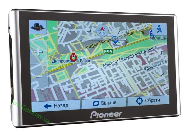 Навигатор 7 Дюймов GPS Pioneer 256mb/8gb Автомобильный навигатор с картами 2018 г